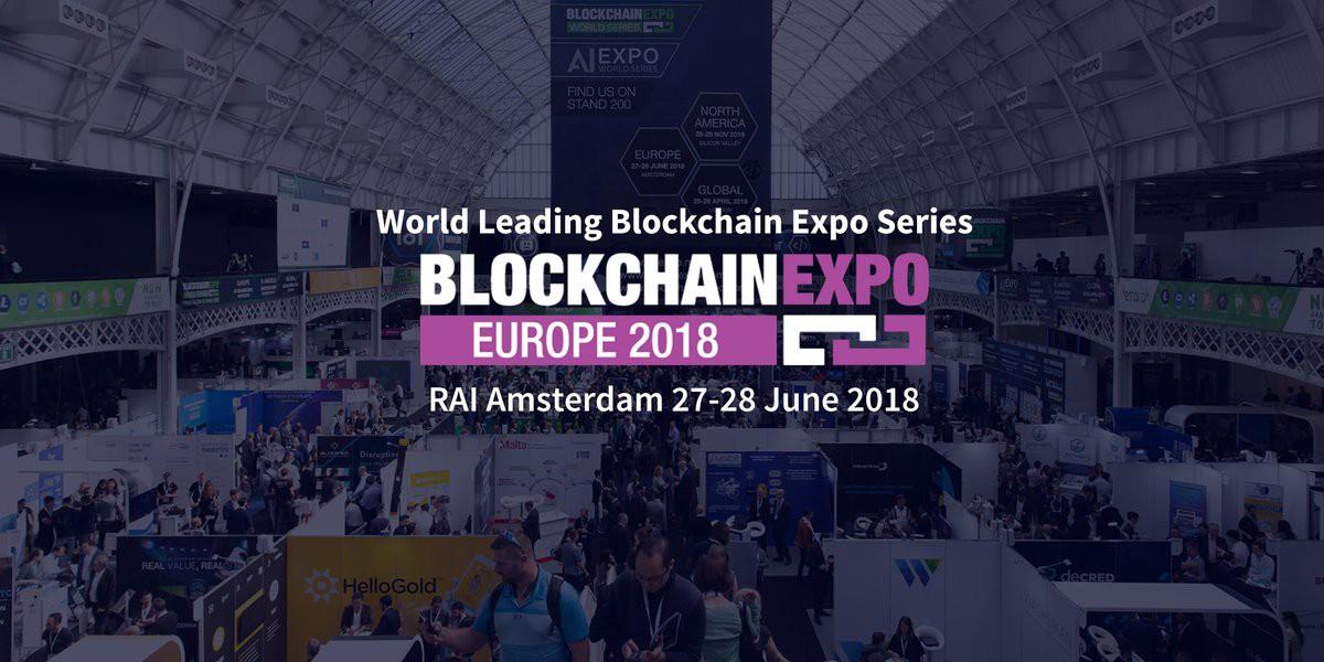 Block Gemini - Blockchain Expo Design
