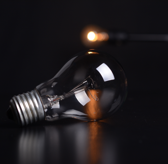 Block Gemini - Lightbulb Photo black