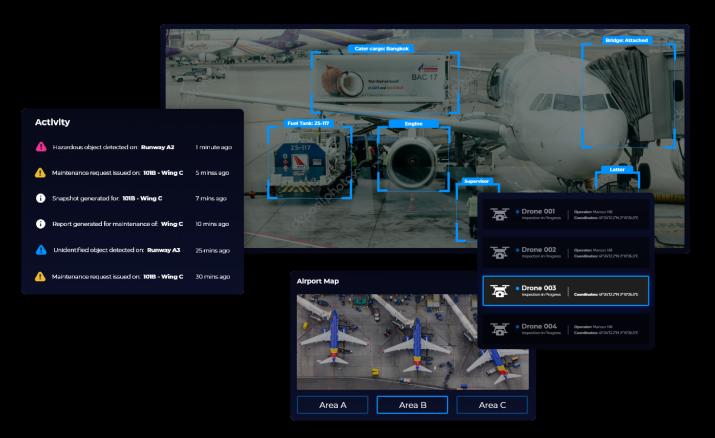 Block Gemini - Airport Dashboard Design 1