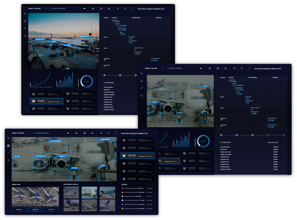 Block Gemini - Airport Dashboard Design. 3