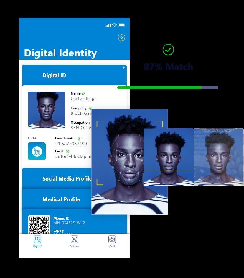 Block Gemini - Digital Identity Profile
