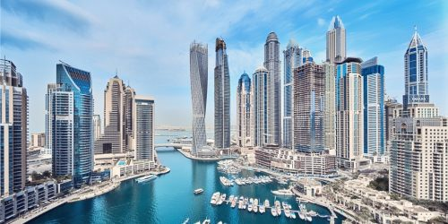 Block Gemini - Dubai Marina Skyline